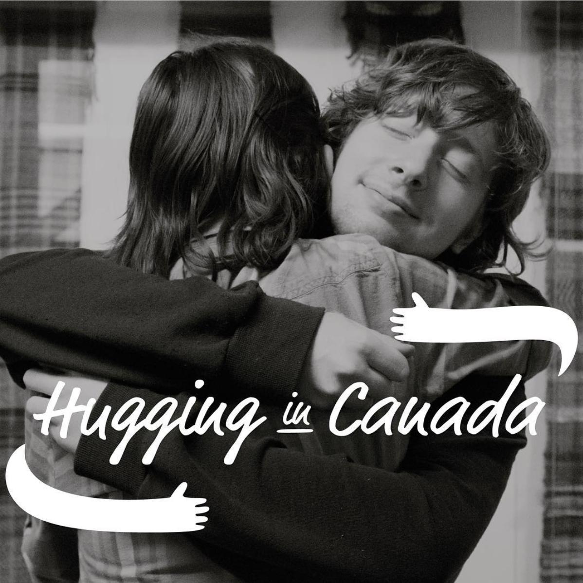 Hugging in Canada